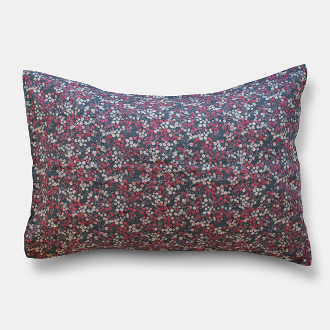 Linen Standard Pillowcase, winter flower