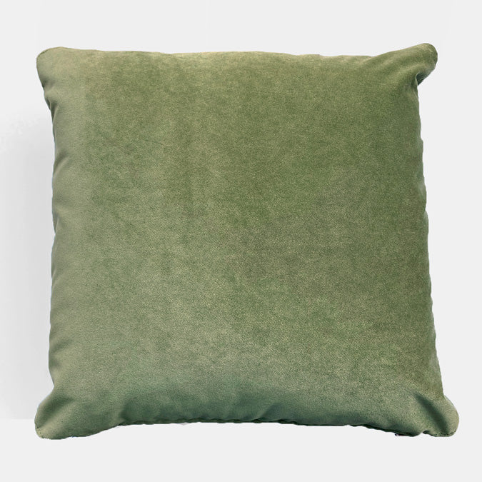 Winthrop Meadow Velvet Pillow, square