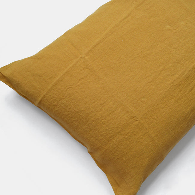 Linen Standard Pillowcase, honey