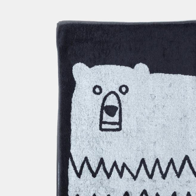 Animal Bath Towel, bear, Towel, Morihata, Collyer's Mansion - Collyer's Mansion