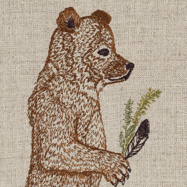 Homecoming Bear Tea Towel