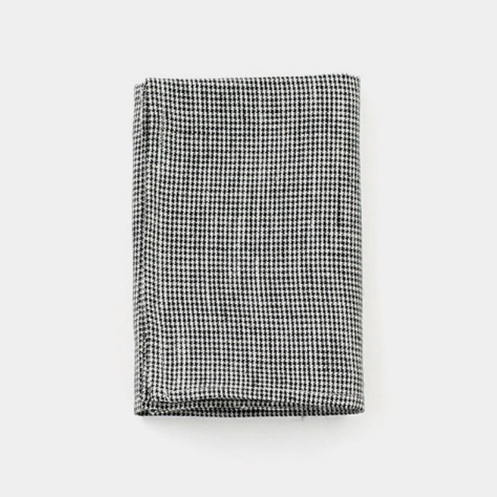Black Houndstooth Kitchen Cloth