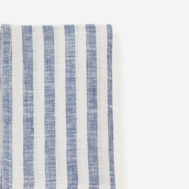 White and Blue Stripe Kitchen Cloth