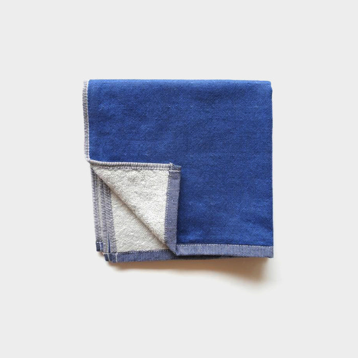 Yoshii Chambray Washcloth, blue