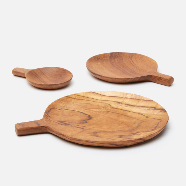 Chloe Round Serving Platters