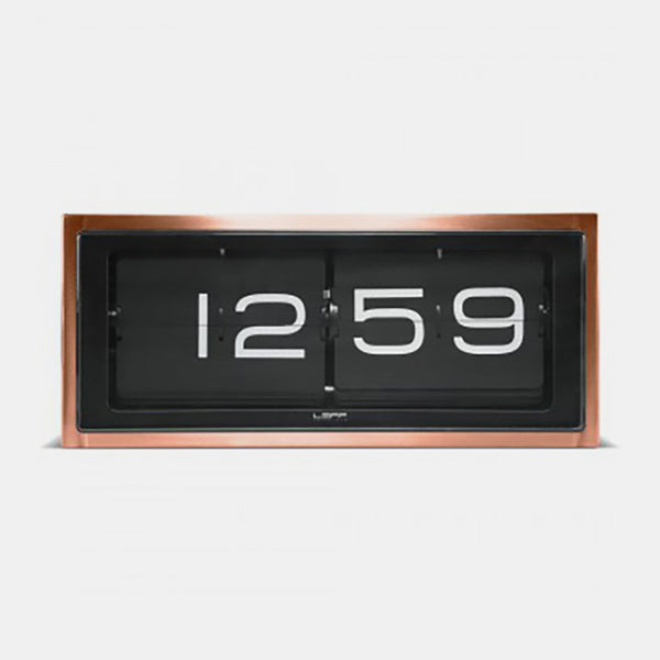 Brick Clock, copper
