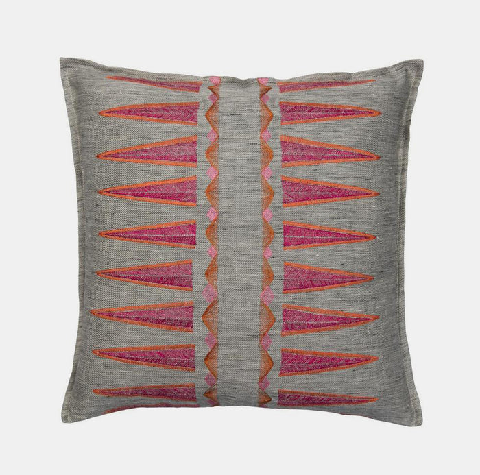 Quill Sunstone Pillow, square