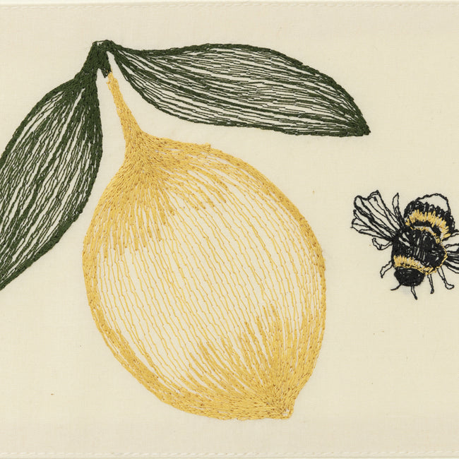 Lemon and Bee Card