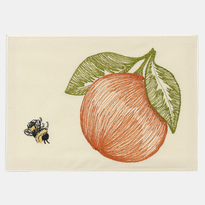 Orange and Bee Card