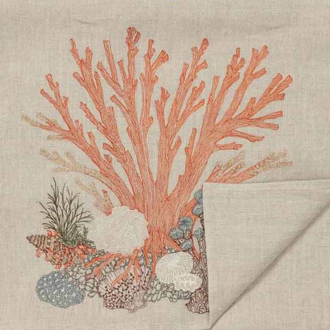 Large Coral Table Runner