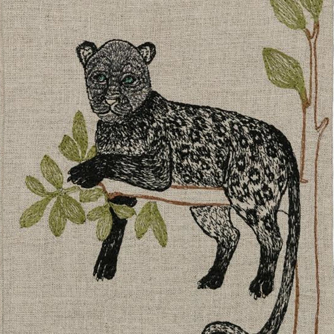 Panther Perch Tea Towel