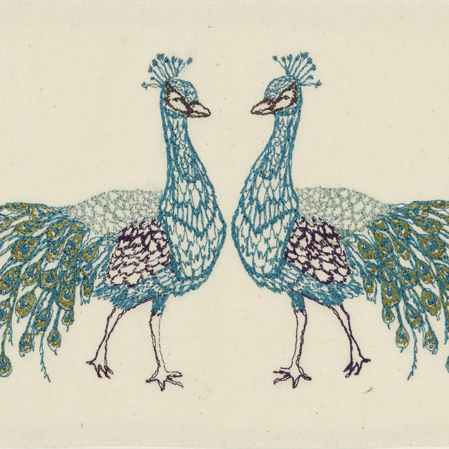 Peacock Love Card