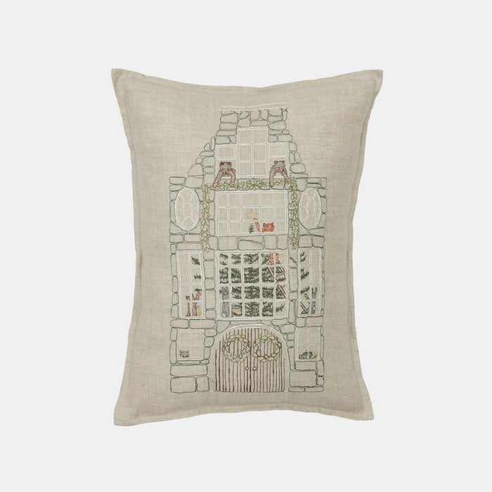 Stone Townhouse Pillow, lumbar