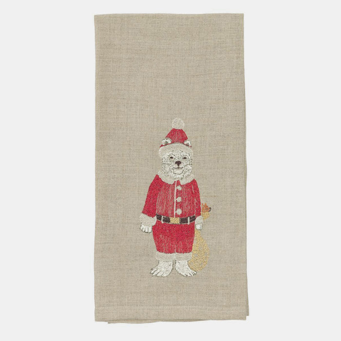 Polar Bear Tea Towel