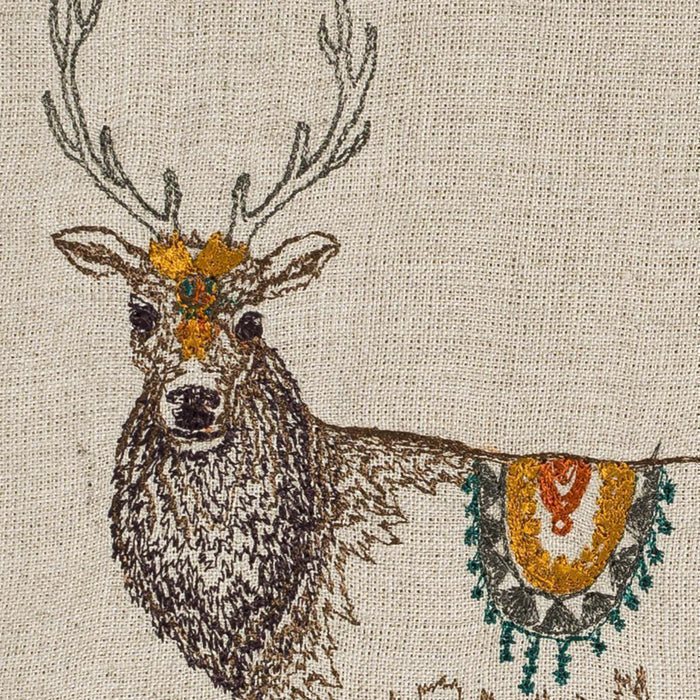 Homecoming Elk Tea Towel