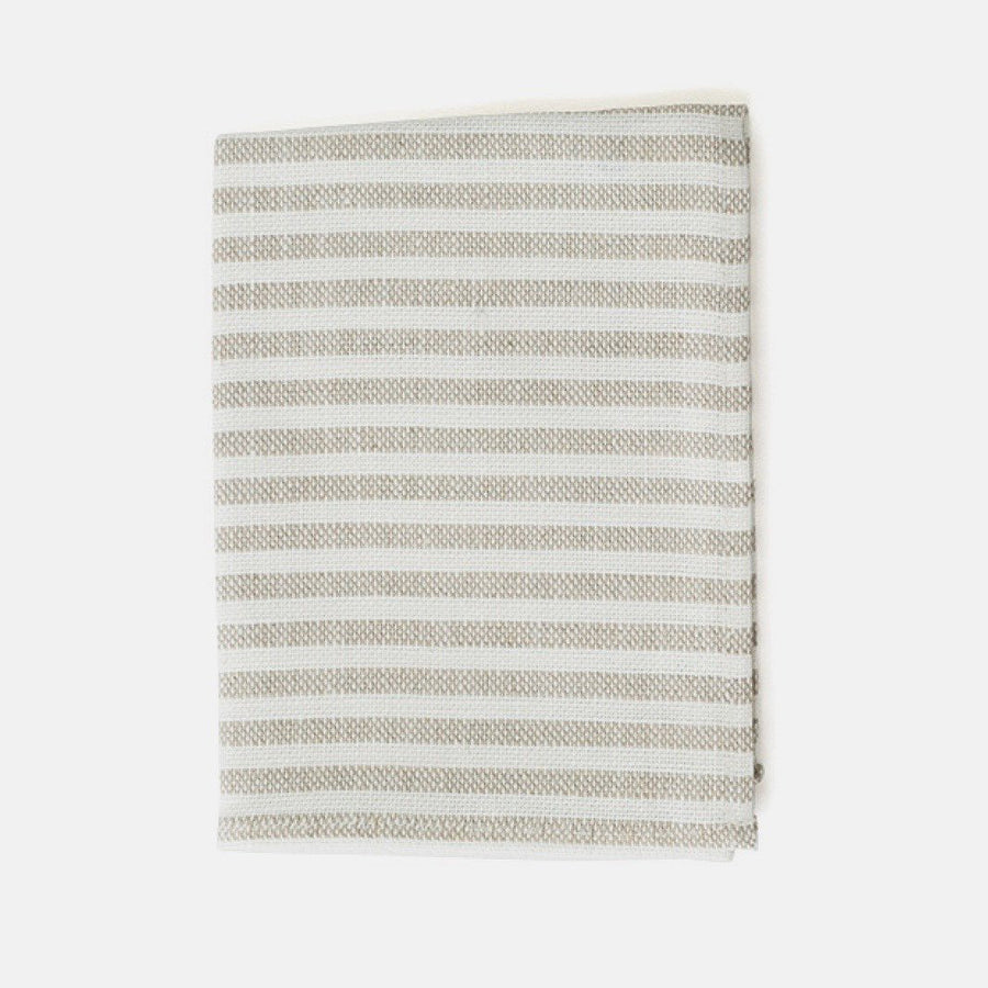Grey Stripe Thick Kitchen Cloth