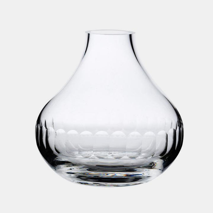 Small Crystal Vase with Lens