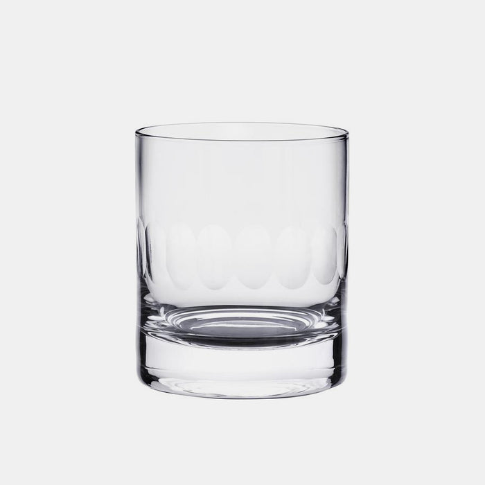 Crystal Whiskey Glass with Lens