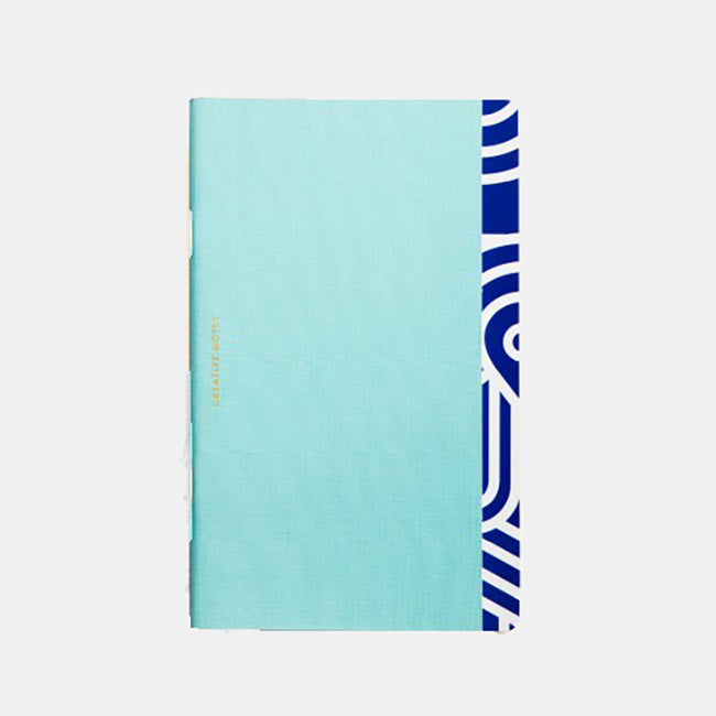 Creative Notes Notebook, light blue, Notebook, OCTAEVO, Collyer's Mansion - Collyer's Mansion