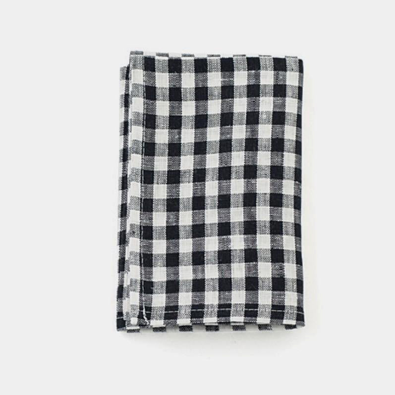 Navy Check Kitchen Cloth