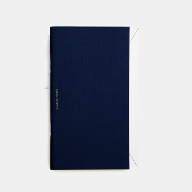 Classic Notes Notebook, navy, Notebook, OCTAEVO, Collyer's Mansion - Collyer's Mansion