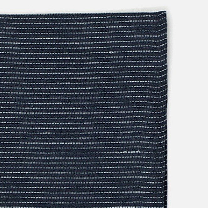 Navy Pinstripe Thick Kitchen Cloth