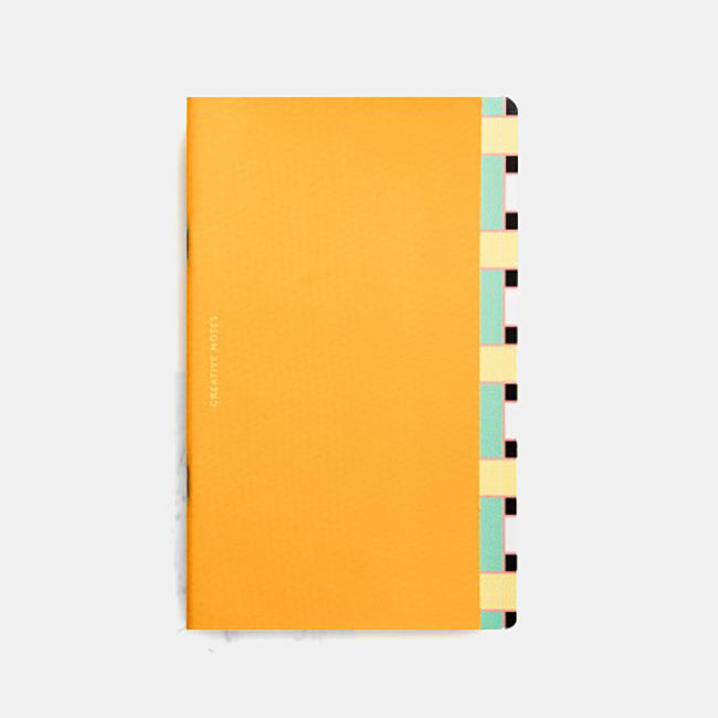 Creative Notes Notebook, orange, Notebook, OCTAEVO, Collyer's Mansion - Collyer's Mansion