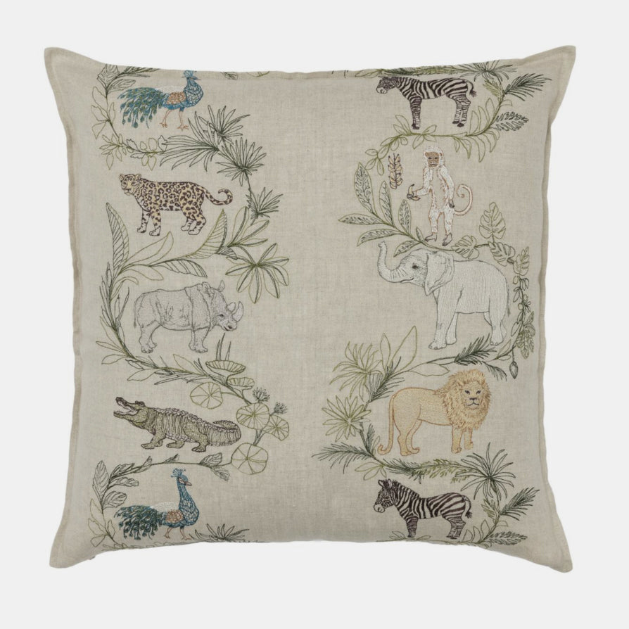 Safari Pillow, square