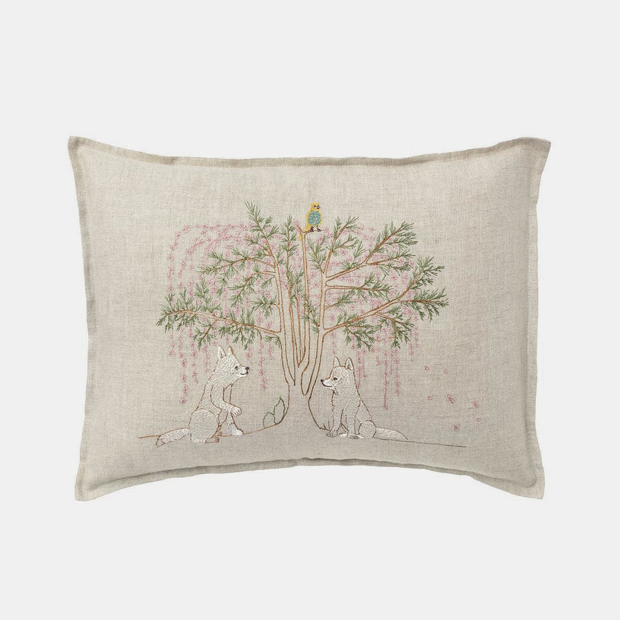 Friendship Tree Pillow, lumbar