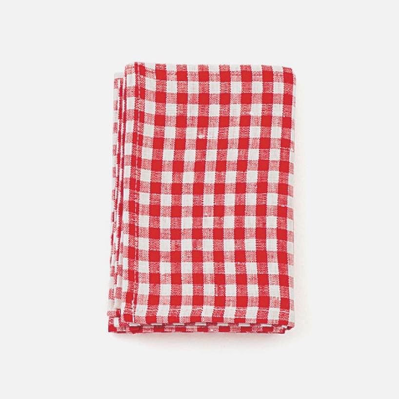 Red Check Kitchen Cloth