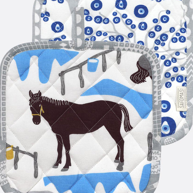 Horse Ranch Pot Holder