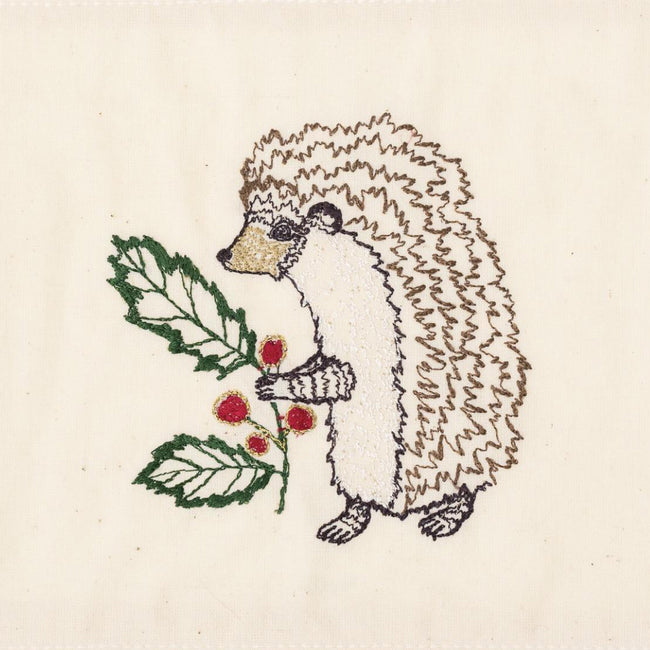 Holly Hedgehog Card