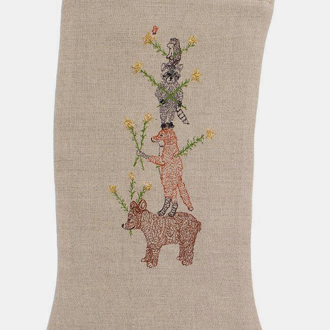 Large Animal Tree Stocking