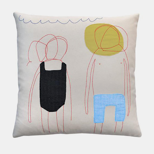 Sunburned Pair Pillow