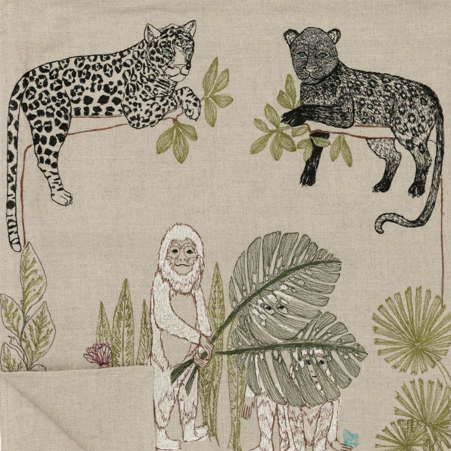Jungle Table Runner, Tablecloth, Coral & Tusk, Collyer's Mansion - Collyer's Mansion