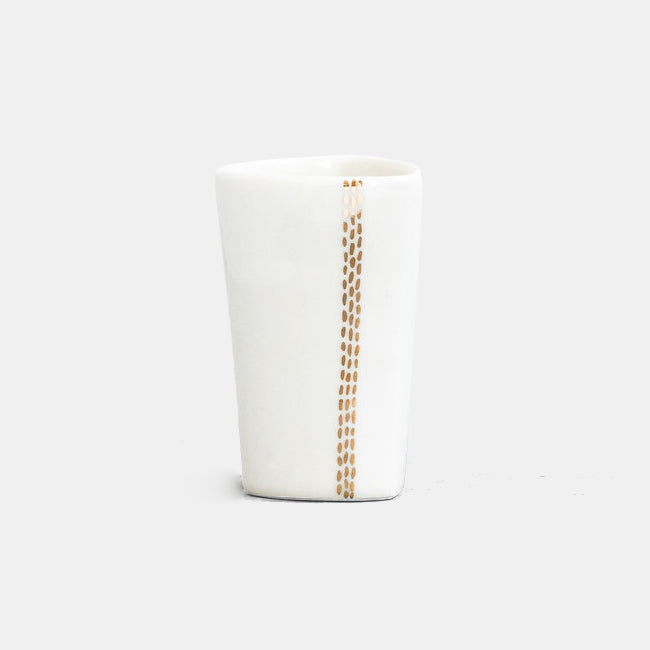 Golden Pinstripe Highball Tumbler
