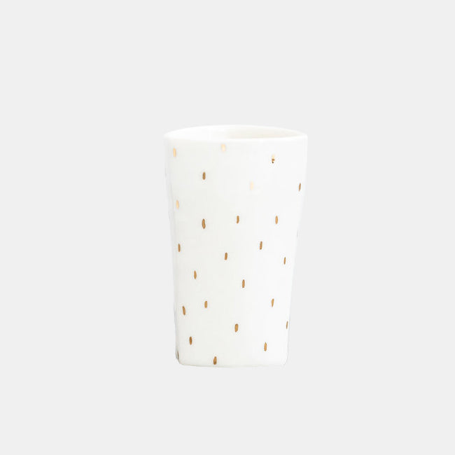 Golden Raindrop Highball Tumbler