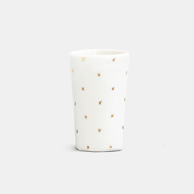 Golden Cross Highball Tumbler