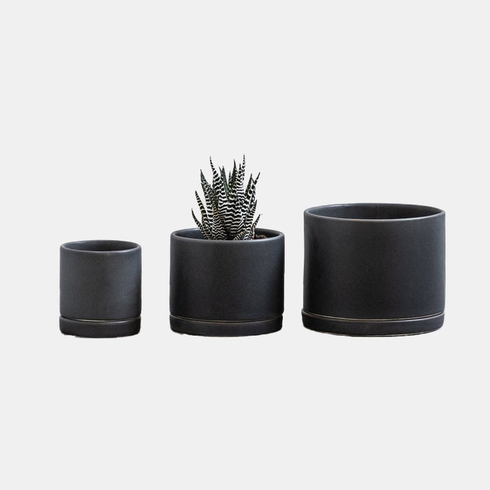 Charcoal Tabletop Planter