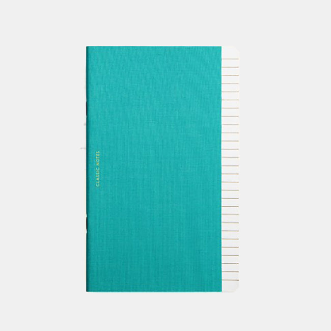 Classic Notes Notebook, teal, Notebook, OCTAEVO, Collyer's Mansion - Collyer's Mansion