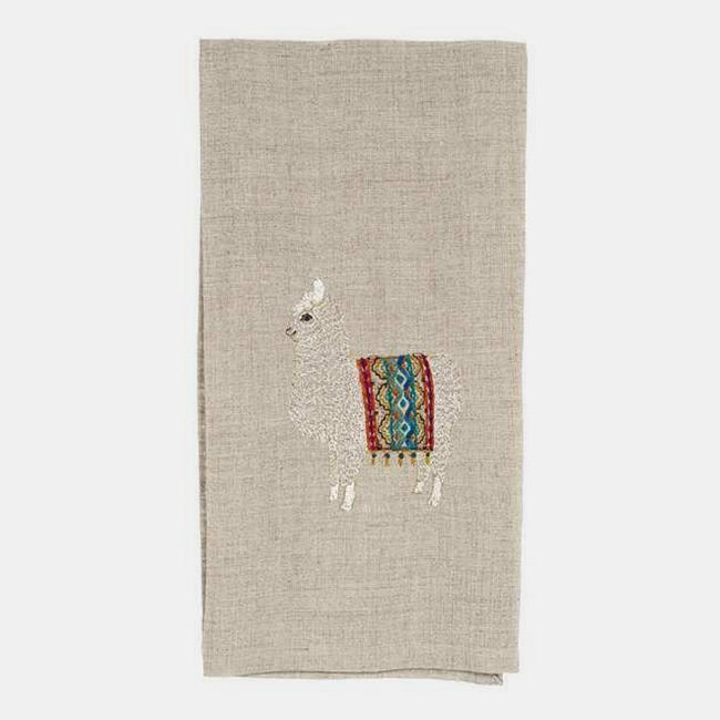 Alpaca Tea Towel