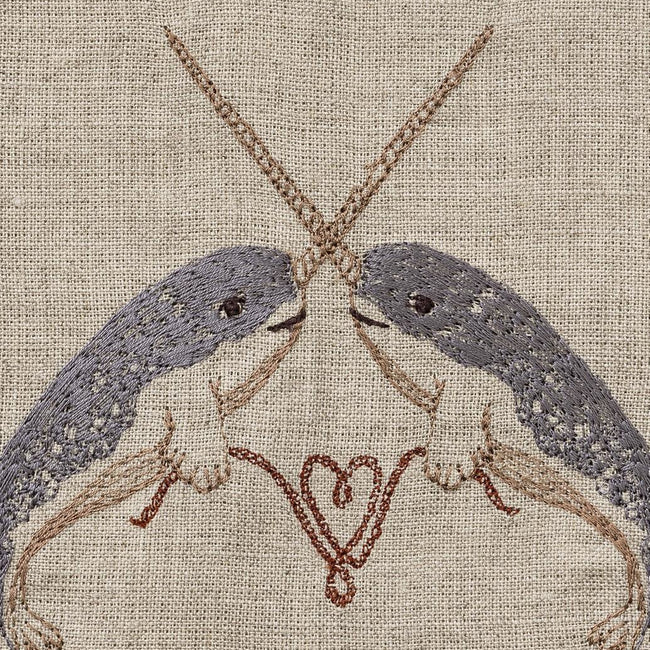 Narwhal Love Tea Towel