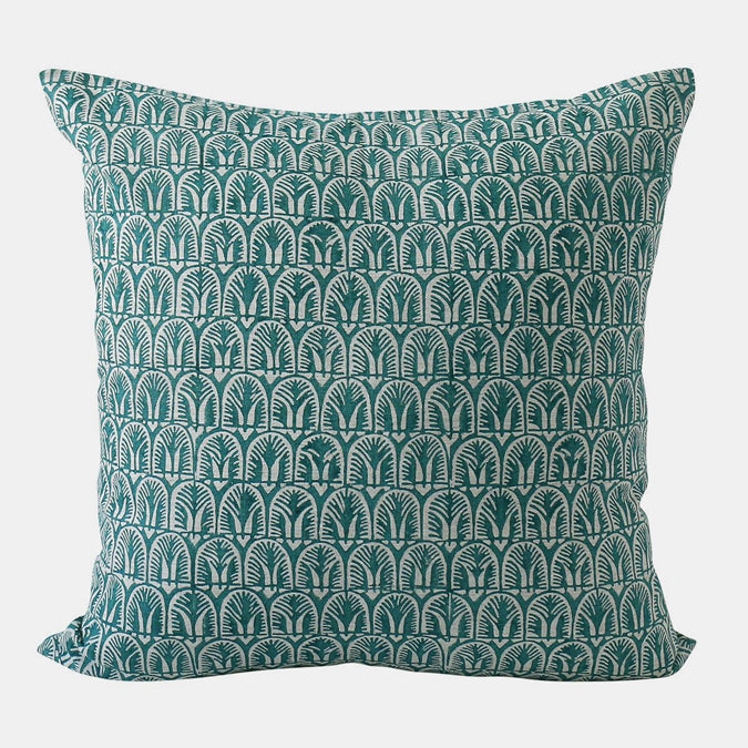 Belize Turkish Pillow, square