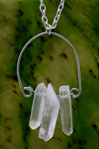 Quartz Point Necklaces