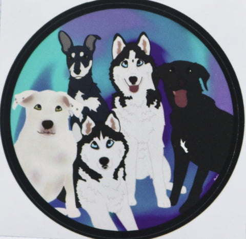 Wandering Paws Squad Sticker