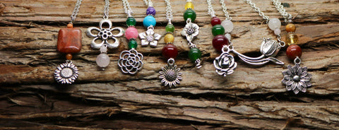 Flower Power Necklace Collection