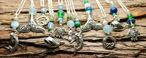 Ocean Critter Necklace Collection