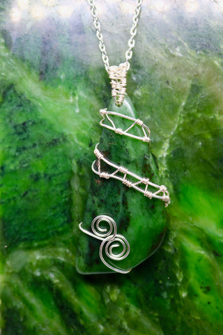 One of a Kind BC Jade Pendant