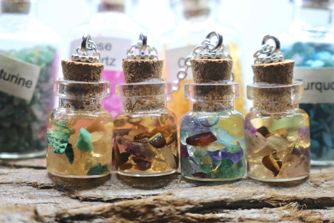 Healing Jar Pendants