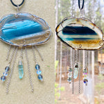 """Always a Silver Lining"" Wire Wrapped Rain Clouds"